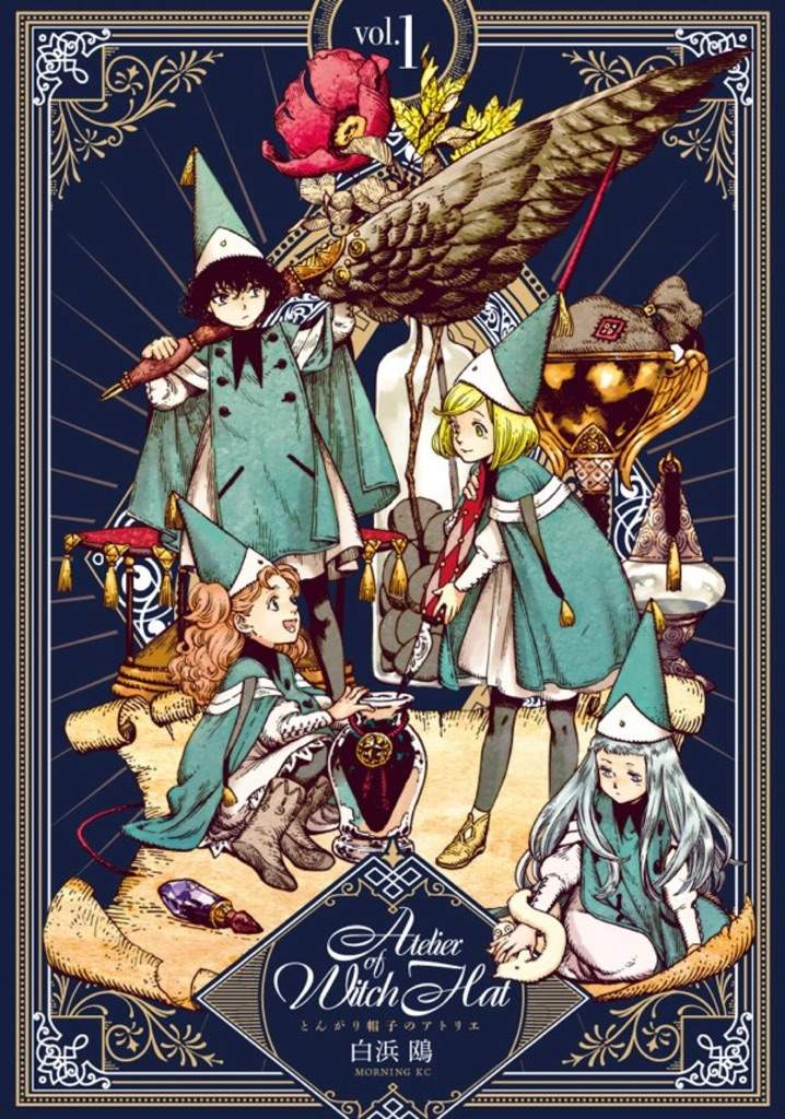 Atelier Of Witch Hat Overview And First Impressions Anime Amino