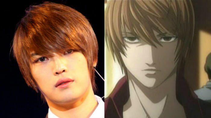 An Anime Character That Looks Like Me : K pop idols who look like real life anime characters