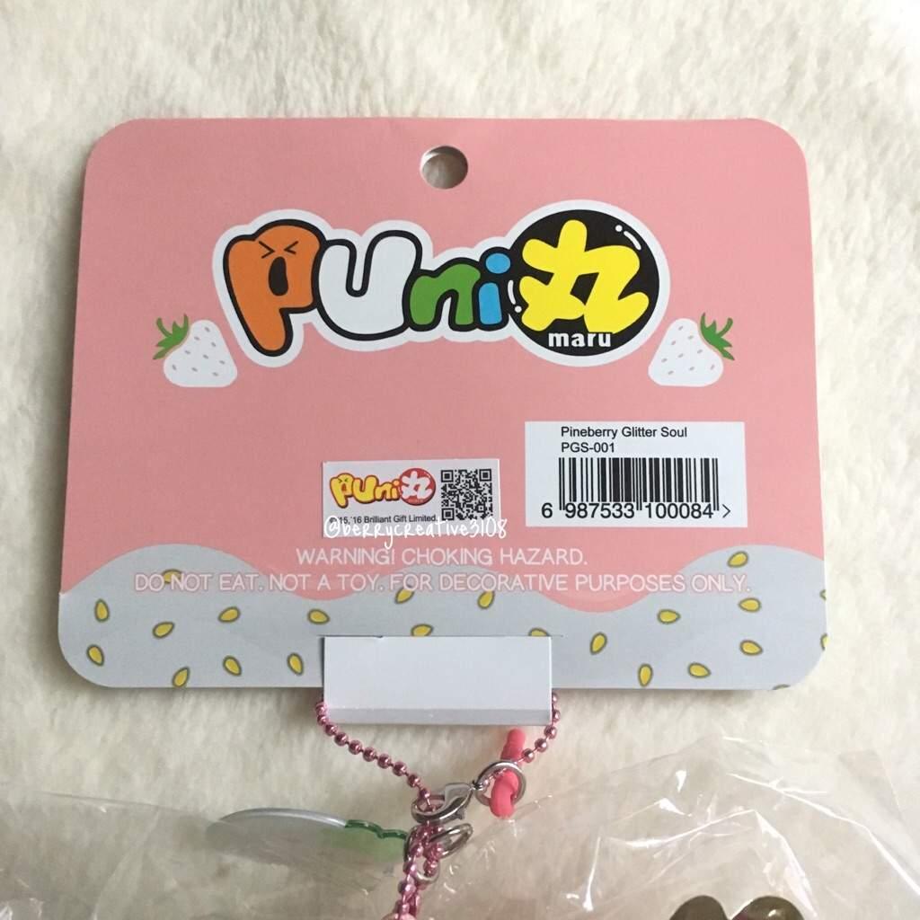 Homemade Squishy Tags : Puni Maru Jumbo Pineberry Strawberry Squishy Love Amino