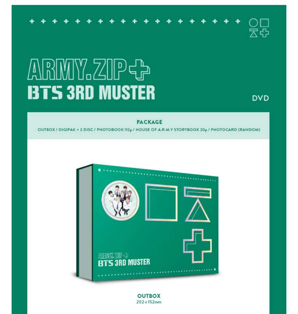 ARMY ZIP+ BTS 3RD MUSTER DVD & BLU-RAY | ARMY's Amino