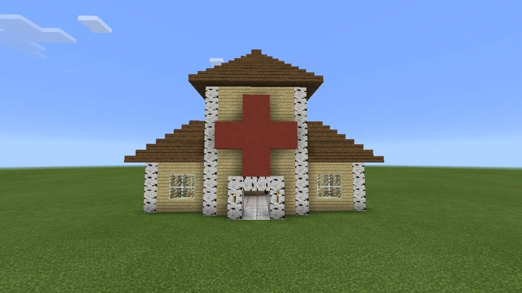 how to build a hospital in minecraft