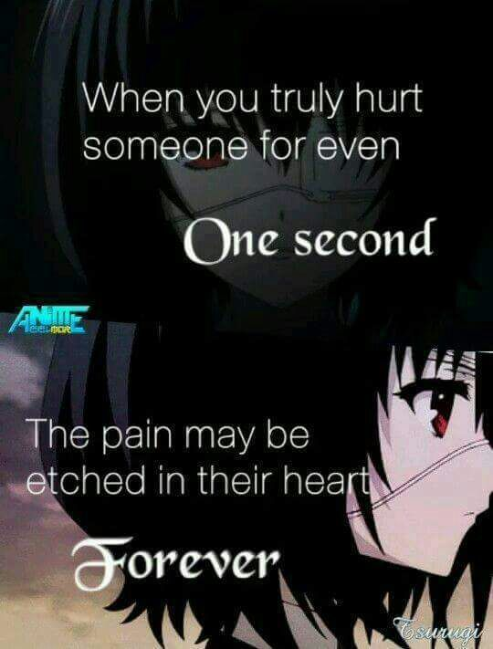 anime quotes deep: Deep Thoughts