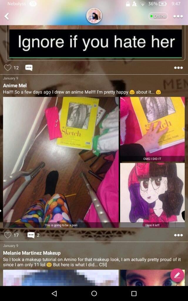 Old Melanie Drawing   Crybabies Amino