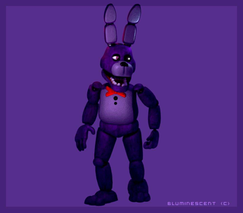 Bonnie 3d Model | Five Nights At Freddy's Amino