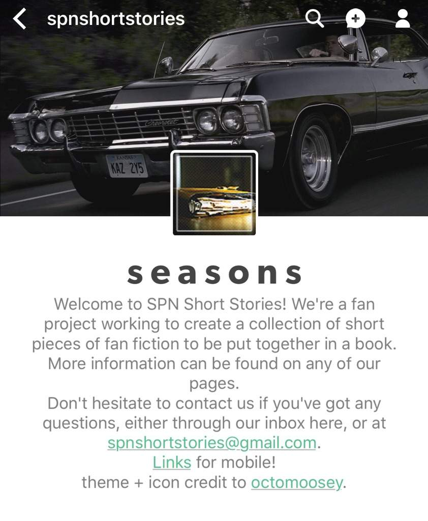 SPN Short Stories | Supernatural Amino