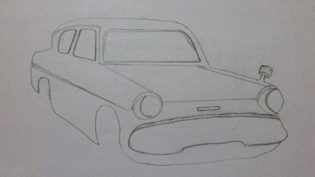 Flying Ford Anglia Harry Potter Amino