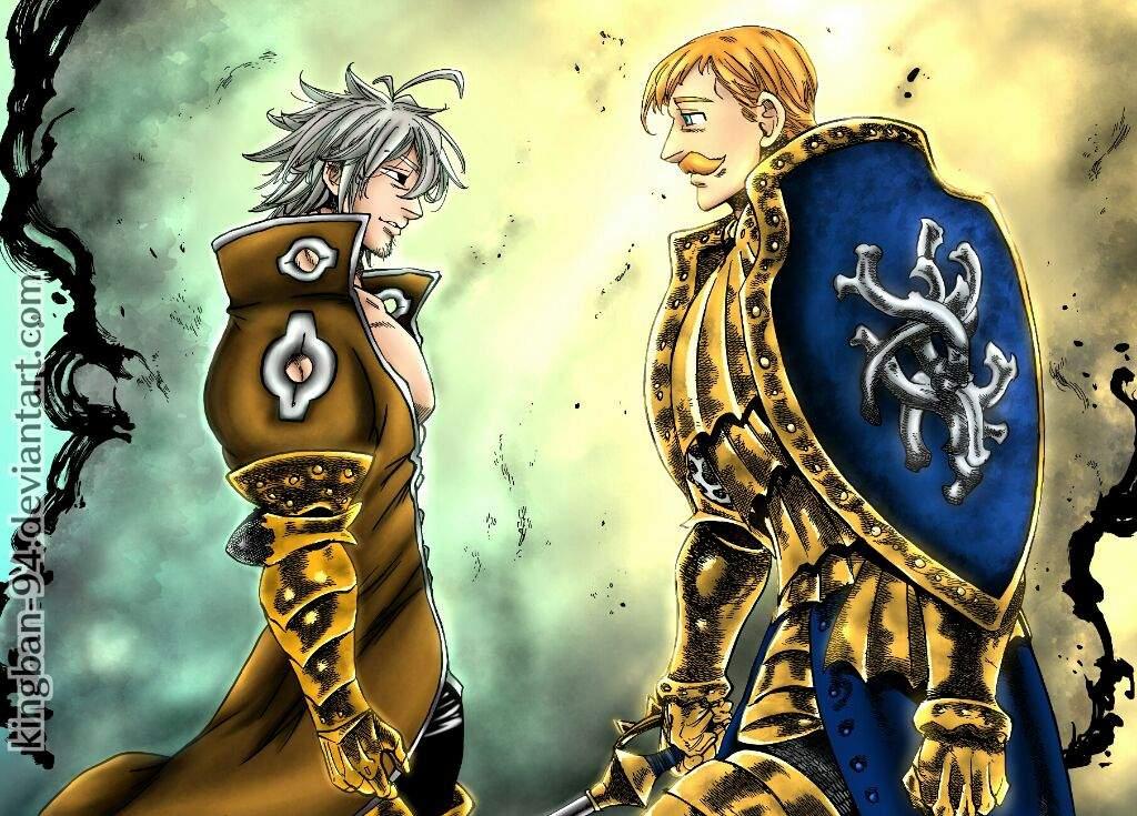 Escanor vs estarrosa | •Anime• Amino