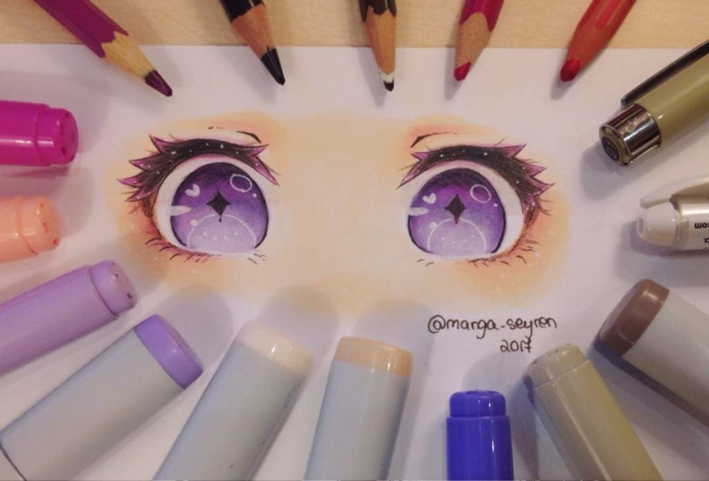 Tutorial How I Draw And Color Anime Eyes Anime Amino