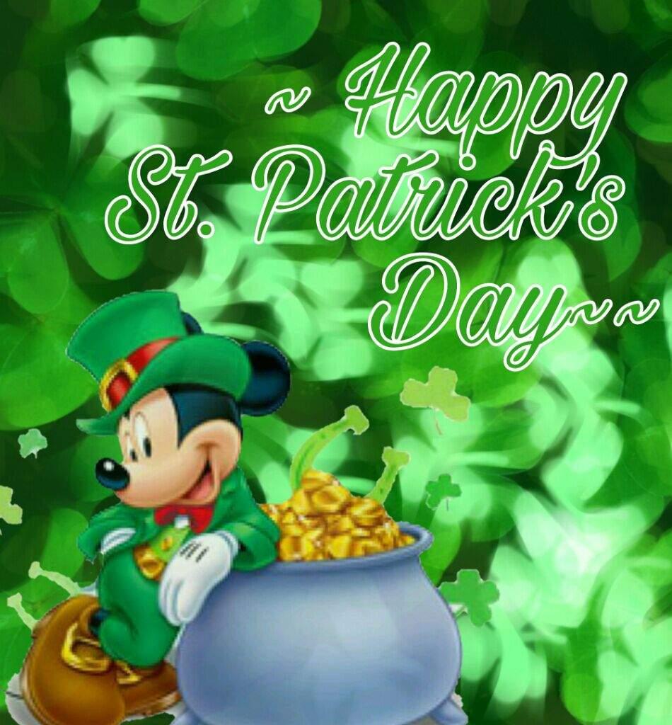 Happy st patrick 39 s day disney amino - Disney st patricks day images ...