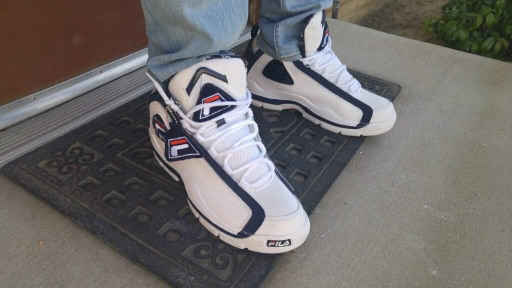 471861c4657 Kiccs of tha day: Fila Grant Hill II | Sneakerheads Amino