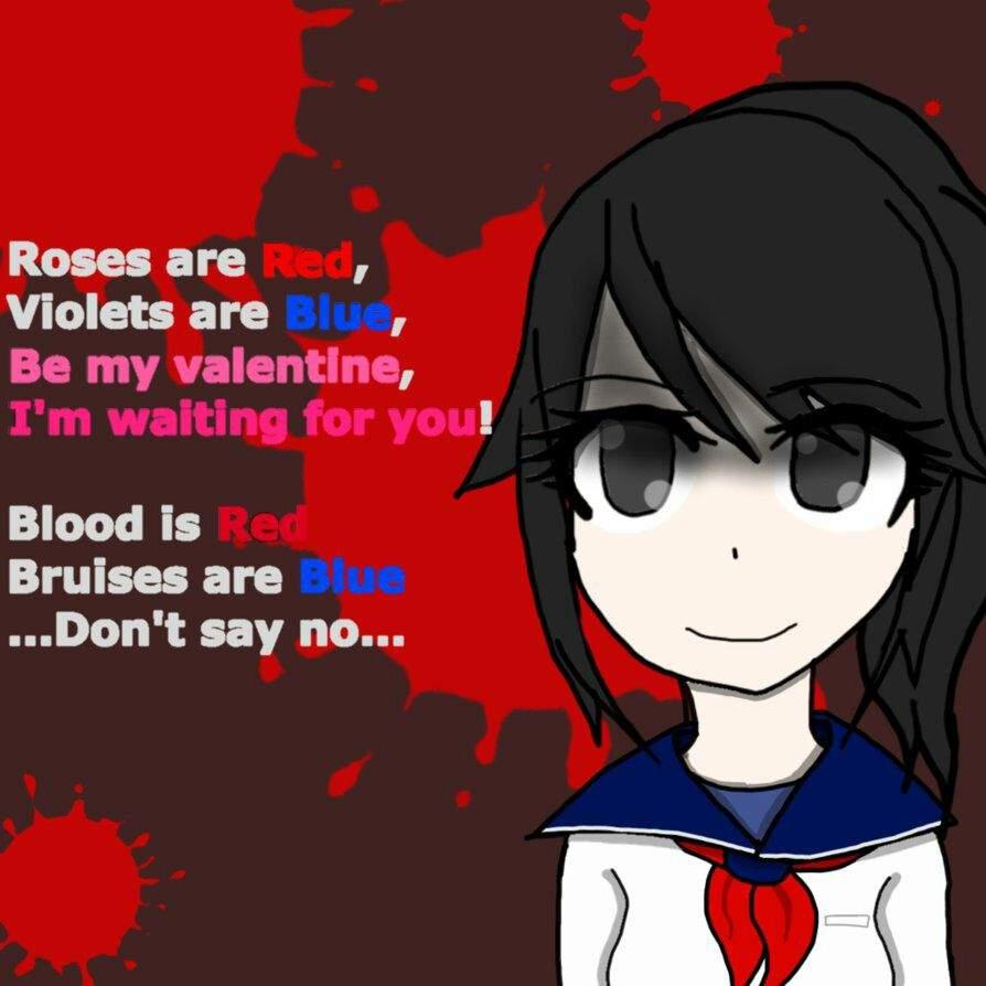 Quotes Poems Yandere Anime Amino
