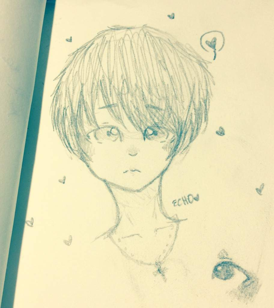 Anime Cute Sketchbook Drawings
