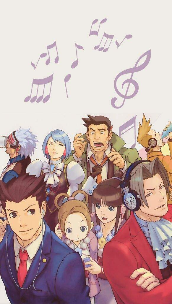Ace Attorney Wallpapers Phoenix Wright Amino