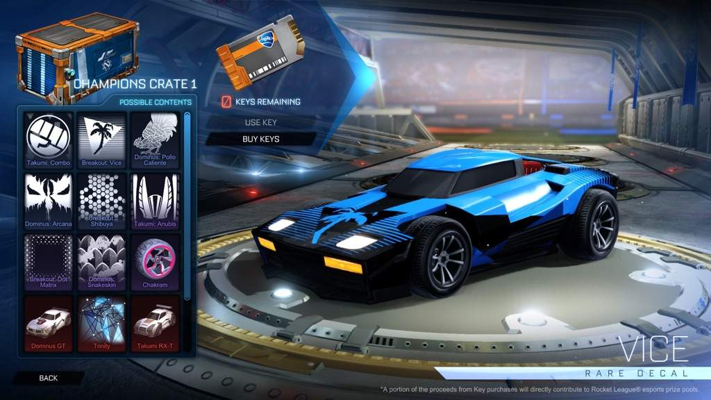 As most of you know the breakout is one of the most popular cars in rocket league as well with the type s most people use the car and you can get