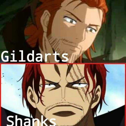 Shanks Vs Gildarts