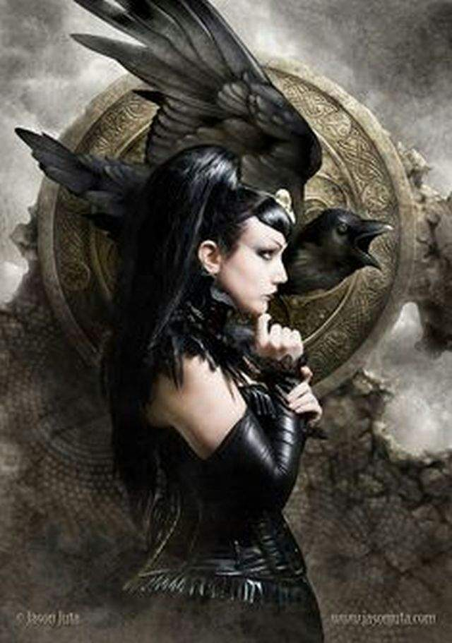 Morrigan The Great Celtic Goddess Pagans Witches Amino