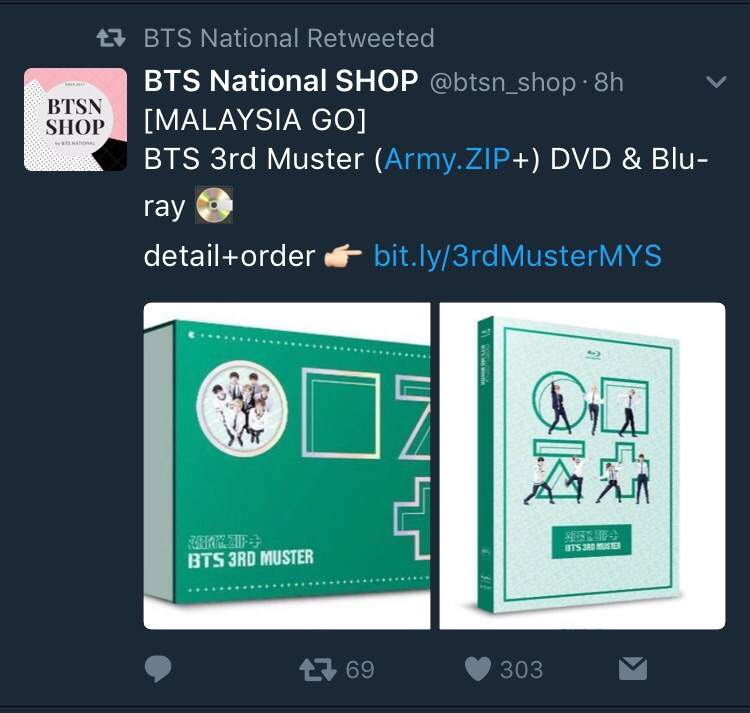 BTS 3rd MUSTER Open For Order in Malaysia and Indonesia 😍 | ARMY's