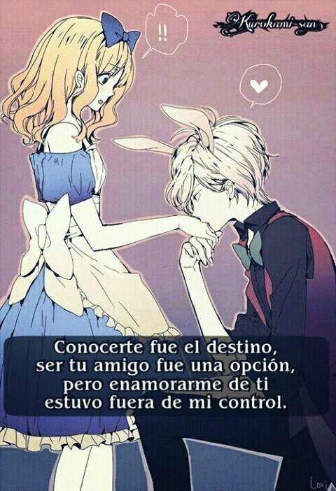 Frases De Amor Anime Amor Amino