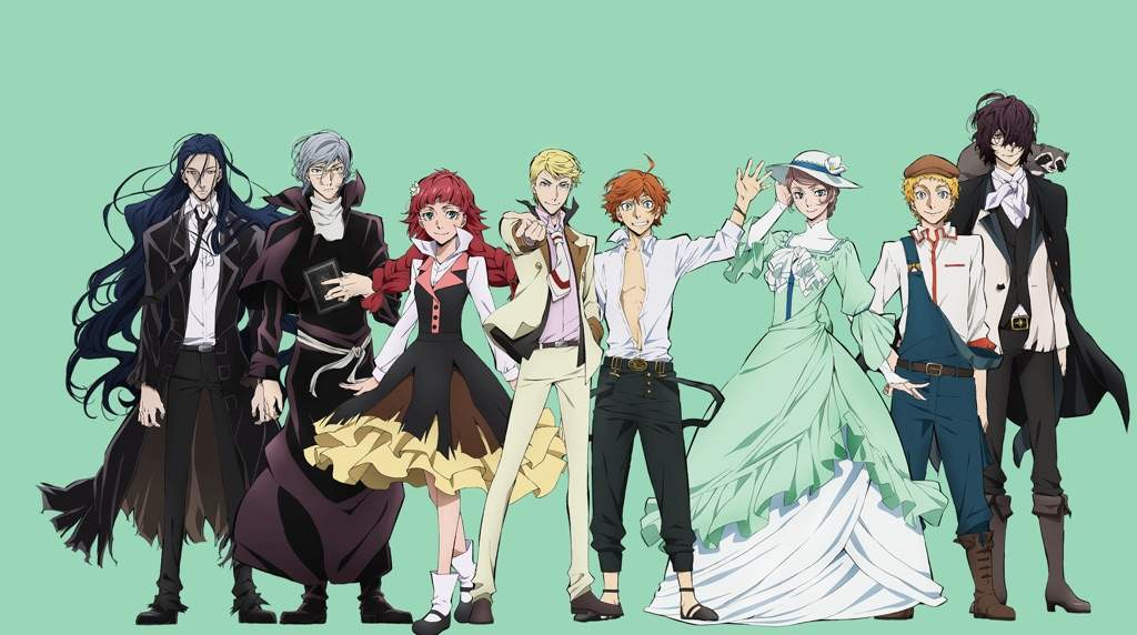 Bungou Stray Dogs: The Guild Literary References | Anime Amino