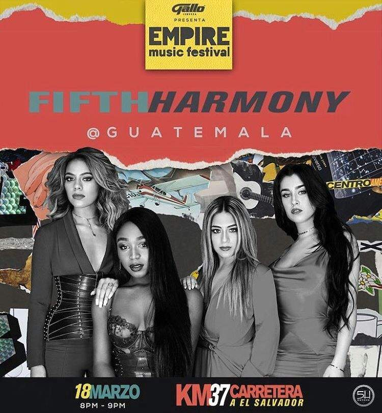 Fifth Harmony is the star of the second day of Empire Music