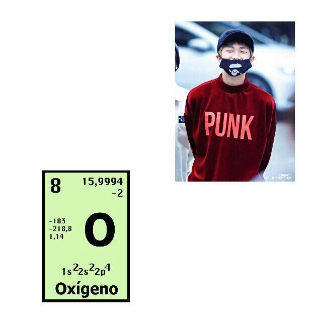 Bts como elementos de la tabla peridica armys amino amino rap monster oxgeno o urtaz Images
