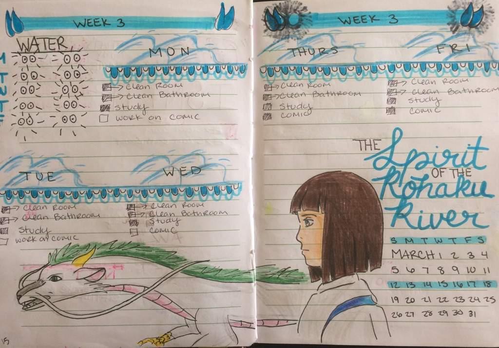 More Spirited Away Bullet Journal Spread Studio Ghibli Amino