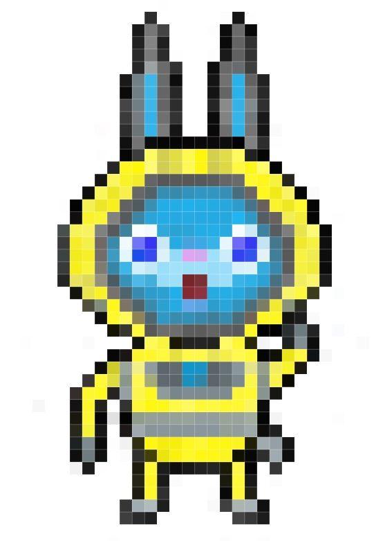Request Usapyon Pixel Art Yo Kai Watch Amino