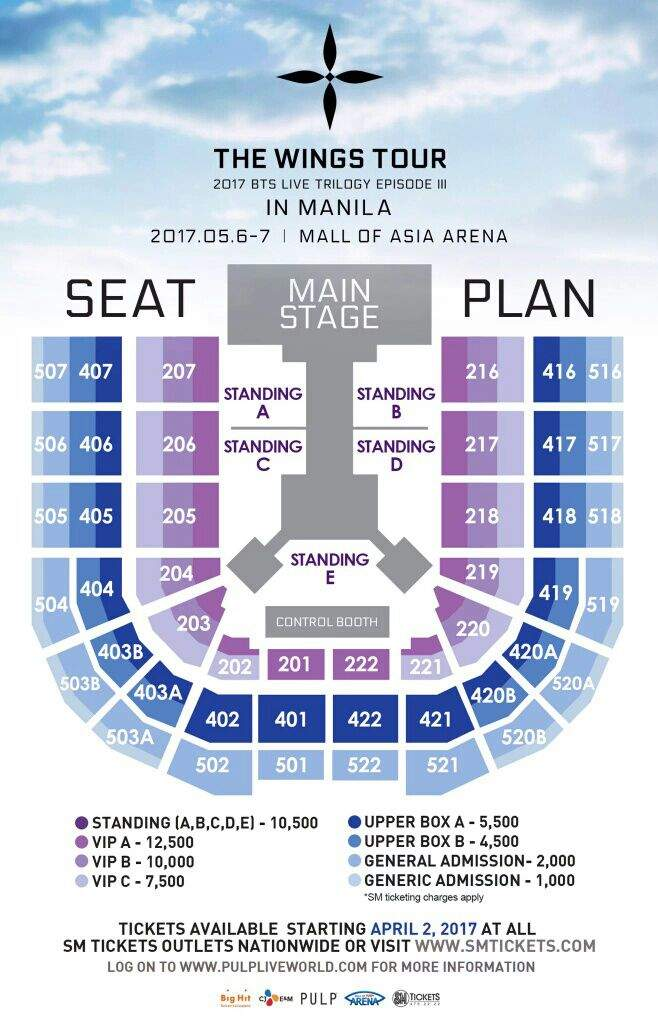 Episode Iii Wings Tour In Manila Ticket Prices And