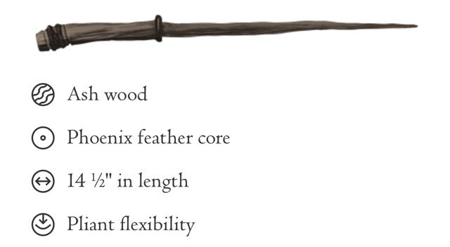 Blackthorn Wood Wand with Dragon Heartstring Core