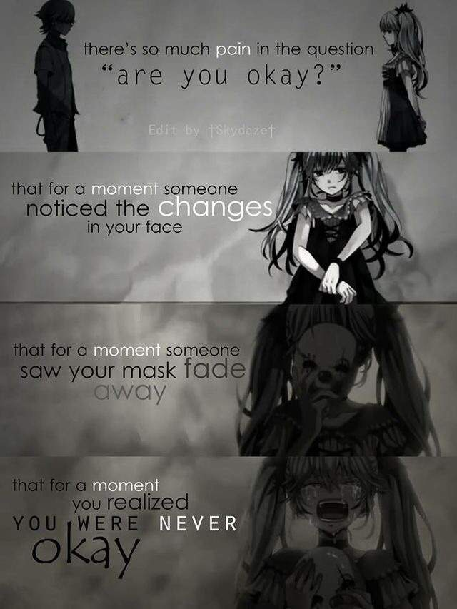 Anime Sad Girl Quotes Pics: Sad Anime Quotes Part 2 [END]