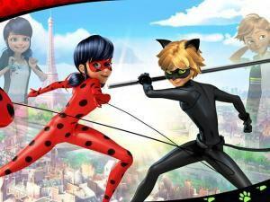 Imagen Dessin Anime Miraculous Les Aventures De Ladybug Et Chat