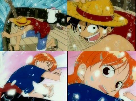 luffy and nami moments   One Piece Amino