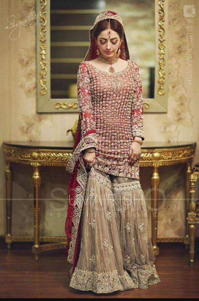 Although They Are Not Worn As Everyday Garment Today As They Once Were,  They Still Remain As Popular Wedding Attire Among Muslim Women Of Hindi  Belt And ...