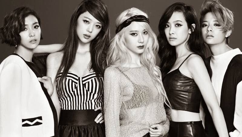 F(x) Bias Ranking (OT5) | KPop Girl Groups Amino F(x) Members 2013