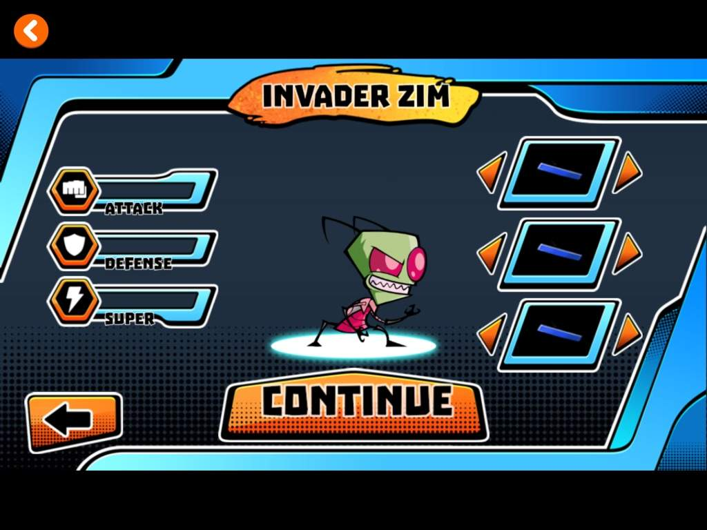 nickeloden s fighting game includes invader zim and more cartoon amino