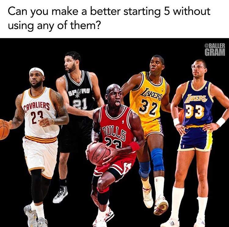Can You Make A Better Starting Five? | Hoops Amino