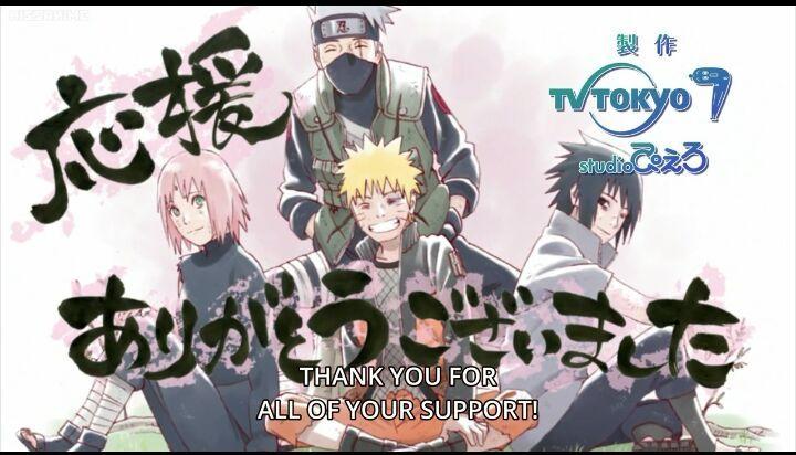 Naruto Shippuden Final Episode 500: The Message | Anime Amino