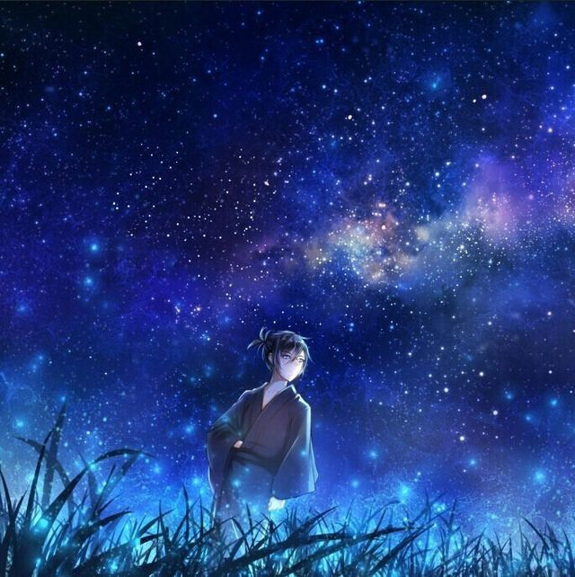 Here Is Some Cool Galaxy Anime Wallpapers I Found So Enjoy