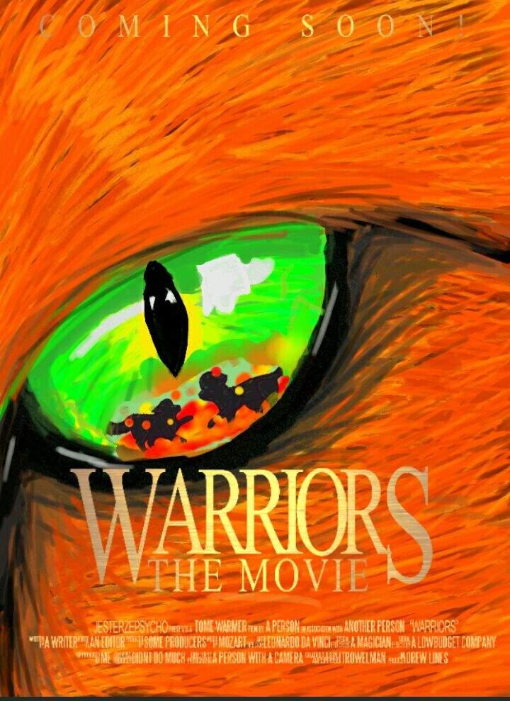 Warrior cats movie poster | Warriors Amino