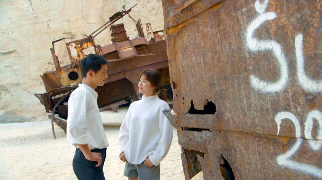 Remembers The Famous Shipwreck That Song Joong Ki And Hye Kyo Visited In Drama Well Is Actually On Navagio Beach Or