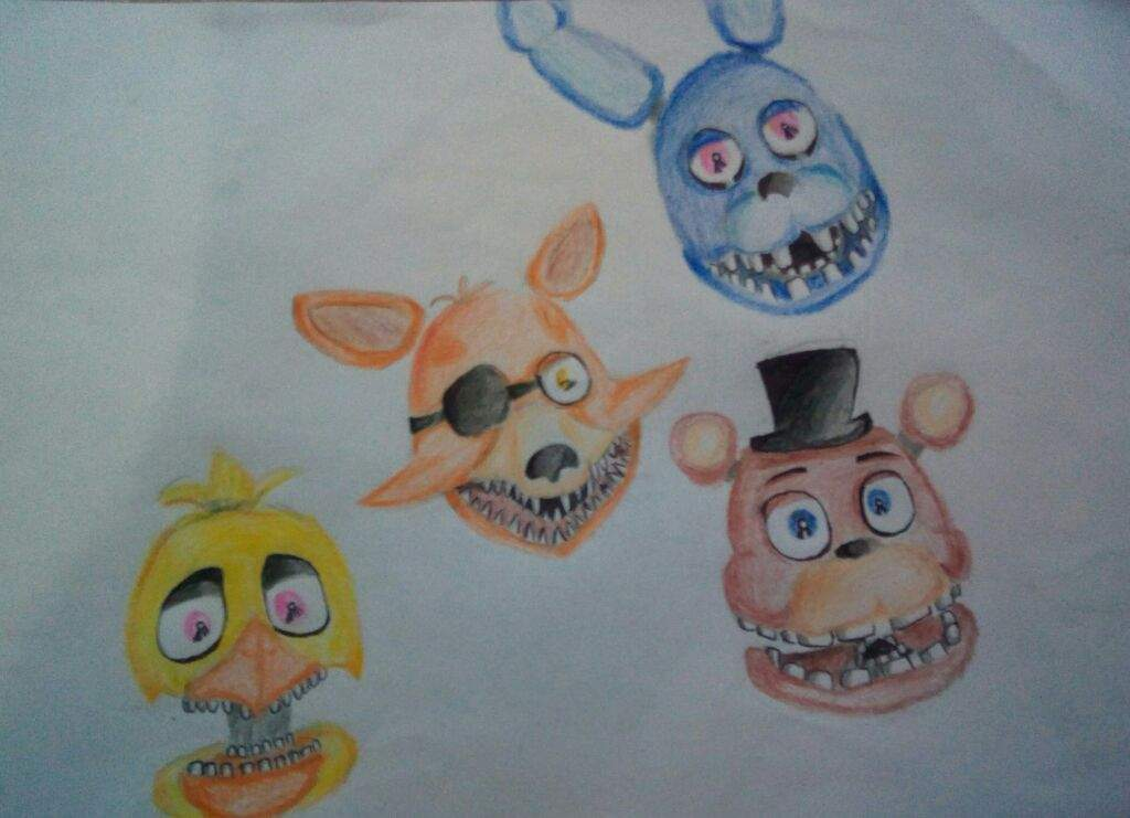 Unwithered animatronics head | Five Nights At Freddy's Amino