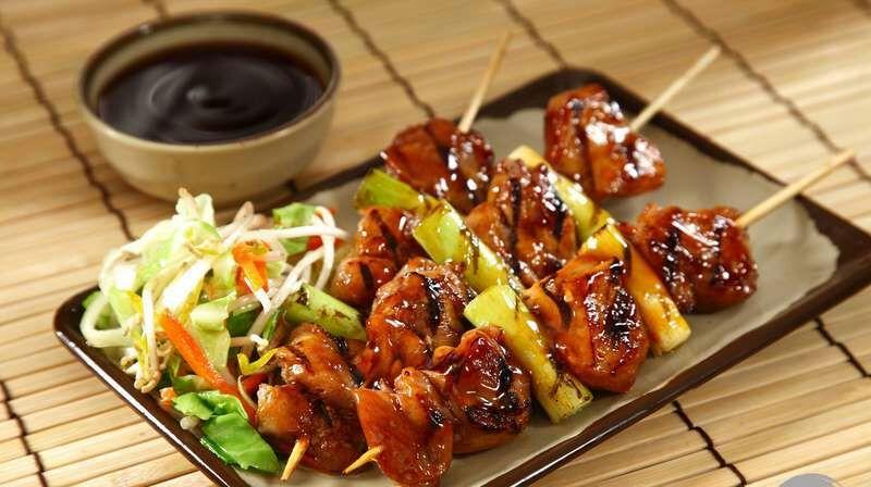 Resultado de imagen para comida japonesa Yakitori