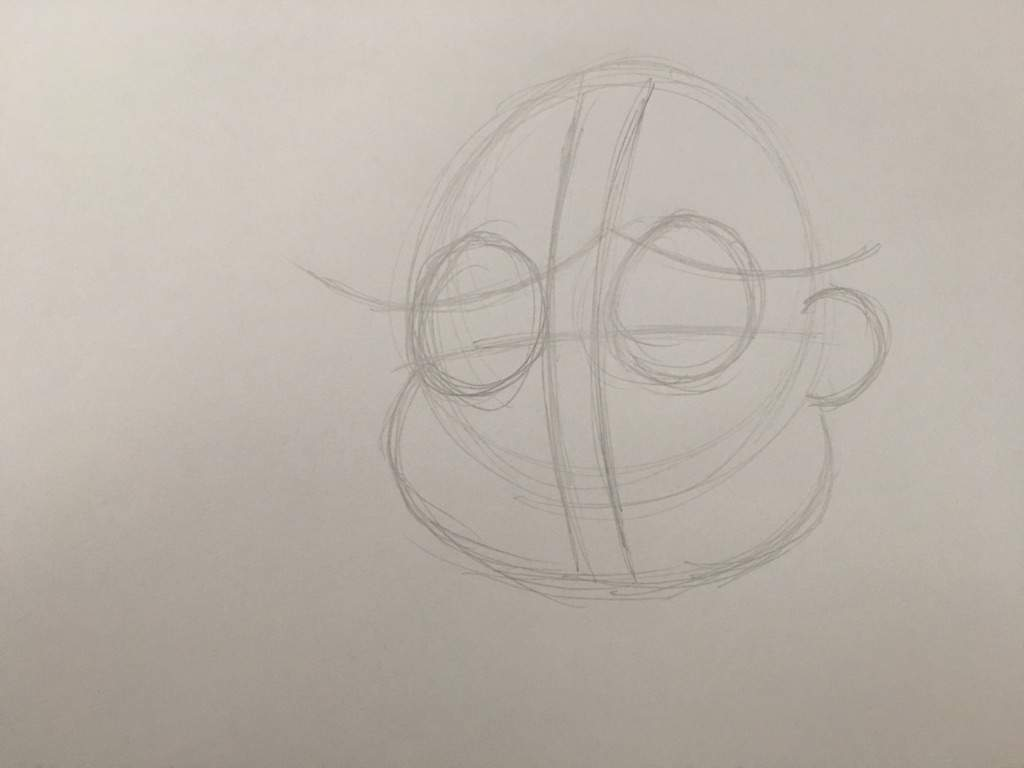 Drawing Using Curved Lines : Chris painting drawing how to shade with a pencil or pen