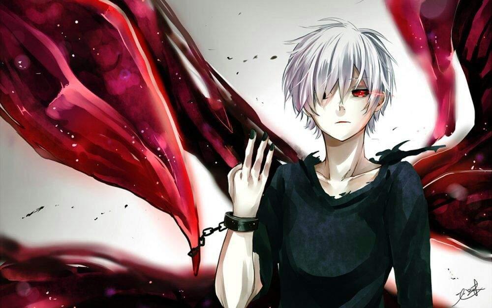 картинки с аниме токийский гуль