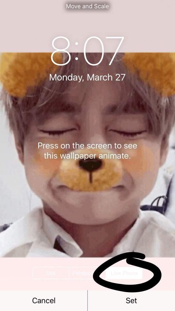 How To Make A Bts Live Wallpaper Iphone Army S Amino
