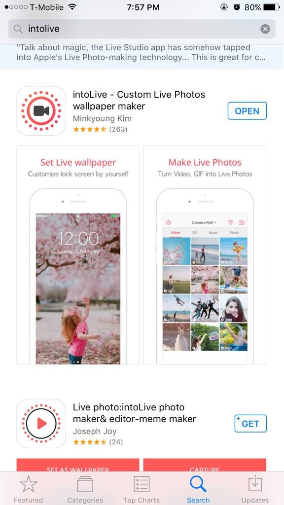 3 Download The App IntoLive Or Any Other Live Wallpaper Apps You Find That May Work