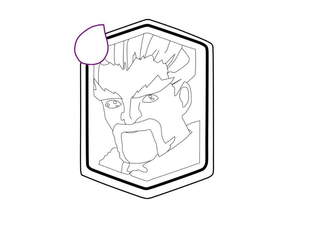 Clash Royale Personajes Para Colorear: Dibujando A La Carta Del Mago De Hielo (Intento #1