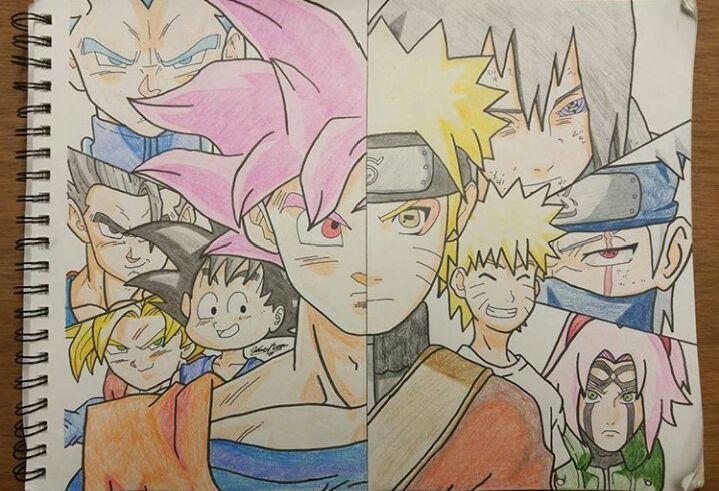 Dragonball Vs Naruto Dbz Amino