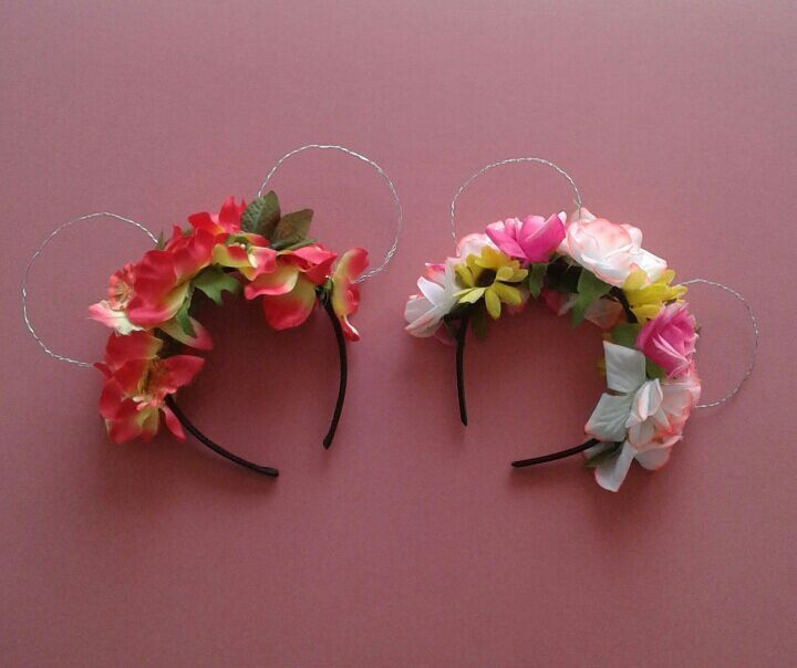 Diy Floral Mickey Ears Disney Amino