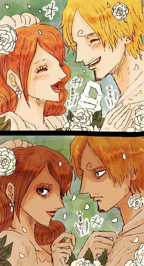 Sanji and Pudding | One Piece Amino